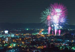 「鹿沼さつき祭り協賛 第46回花火大会」 ~生中継~